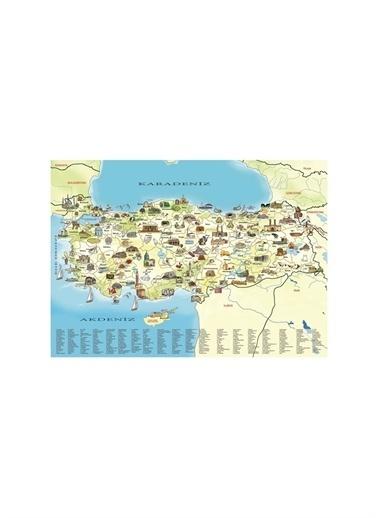 Art Puzzle Art Puzzle Türkiye Kültür Haritası 260 Parça Puzzle  Renksiz